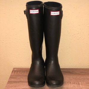 Women's Hunter boots size 7